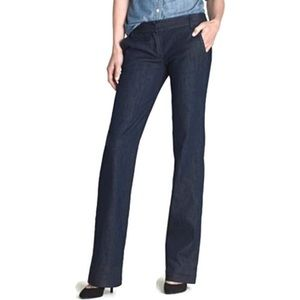 J Crew Trouser Size 6 Classic Rinse Wash Jeans NEW
